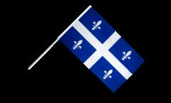 Stockflagge Kanada Quebec - 60 x 90 cm