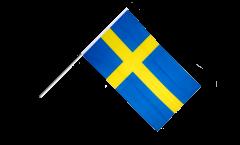 Stockflagge Schweden - 60 x 90 cm