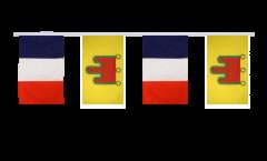 Freundschaftskette Frankreich - Auvergne - 30 x 45 cm