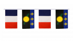 Freundschaftskette Frankreich - Guadeloupe - 30 x 45 cm