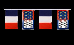 Freundschaftskette Frankreich - Pays de la Loire - 30 x 45 cm
