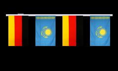 Freundschaftskette Deutschland - Kasachstan - 15 x 22 cm