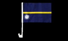 Autofahne Nauru - 30 x 40 cm