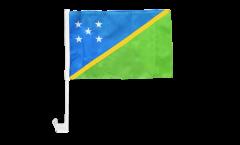 Autofahne Salomonen Inseln - 30 x 40 cm