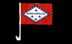 Autofahne USA Arkansas - 30 x 40 cm