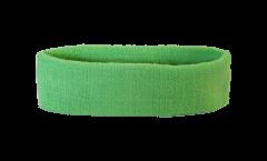 Stirnband einfarbig hellgrün - 6 x 21 cm