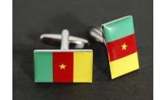 Manschettenknöpfe Flagge Kamerun - 18 x 12 mm