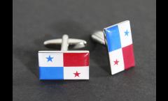 Manschettenknöpfe Flagge Panama - 18 x 12 mm