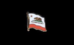 Flaggen-Pin USA Kalifornien - 2 x 2 cm