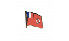 Flaggen-Pin Wallis und Futuna - 2 x 2 cm