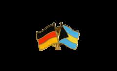Freundschaftspin Deutschland - Bahamas - 22 mm