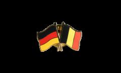 Freundschaftspin Deutschland - Belgien - 22 mm