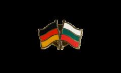 Freundschaftspin Deutschland - Bulgarien - 22 mm