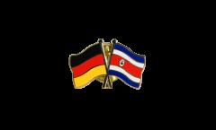 Freundschaftspin Deutschland - Costa Rica - 22 mm