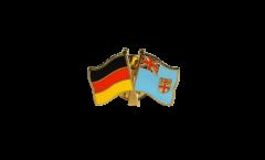 Freundschaftspin Deutschland - Fidschi - 22 mm