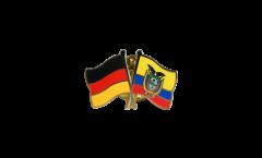 Freundschaftspin Deutschland - Ecuador - 22 mm