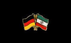 Freundschaftspin Deutschland - Iran - 22 mm