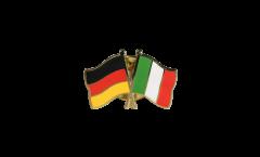 Freundschaftspin Deutschland - Italien - 22 mm
