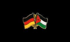 Freundschaftspin Deutschland - Jordanien - 22 mm