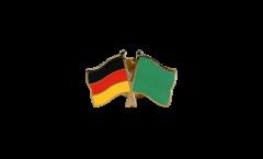 Freundschaftspin Deutschland - Libyen 1977-2011 - 22 mm