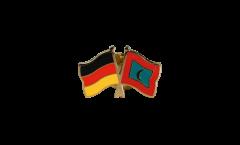 Freundschaftspin Deutschland - Malediven - 22 mm