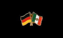 Freundschaftspin Deutschland - Mexiko - 22 mm