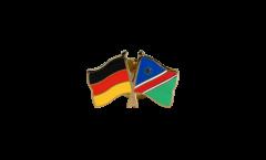 Freundschaftspin Deutschland - Namibia - 22 mm
