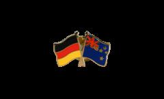 Freundschaftspin Deutschland - Neuseeland - 22 mm