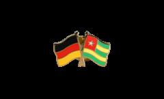 Freundschaftspin Deutschland - Togo - 22 mm