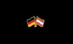 Freundschaftspin Deutschland - Österreich - 22 mm