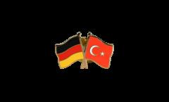 Freundschaftspin Deutschland - Türkei - 22 mm