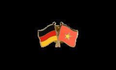 Freundschaftspin Deutschland - Vietnam - 22 mm
