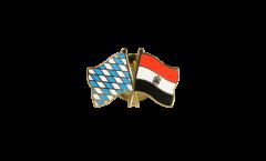 Freundschaftspin Bayern - Ägypten - 22 mm
