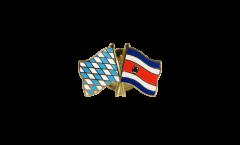 Freundschaftspin Bayern - Costa Rica - 22 mm