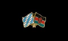 Freundschaftspin Bayern - Kenia - 22 mm