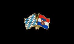 Freundschaftspin Bayern - Kroatien - 22 mm