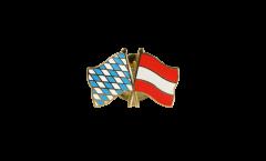 Freundschaftspin Bayern - Österreich - 22 mm