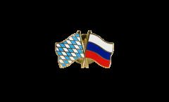 Freundschaftspin Bayern - Russland - 22 mm