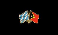 Freundschaftspin Bayern - Osttimor - 22 mm