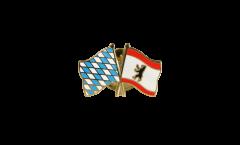 Freundschaftspin Bayern - Berlin - 22 mm