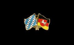Freundschaftspin Bayern - Niedersachsen - 22 mm