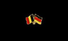 Freundschaftspin Belgien - Deutschland - 22 mm