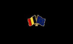 Freundschaftspin Belgien - Europa - 22 mm