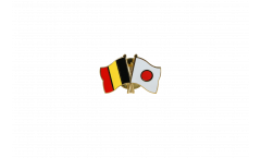 Freundschaftspin Belgien - Japan - 22 mm