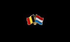 Freundschaftspin Belgien - Luxemburg - 22 mm