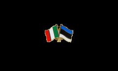 Freundschaftspin Italien - Estland - 22 mm