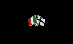Freundschaftspin Italien - Finnland - 22 mm