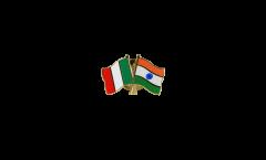 Freundschaftspin Italien - Indien - 22 mm