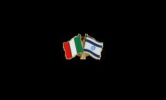 Freundschaftspin Italien - Israel - 22 mm