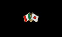 Freundschaftspin Italien - Japan - 22 mm